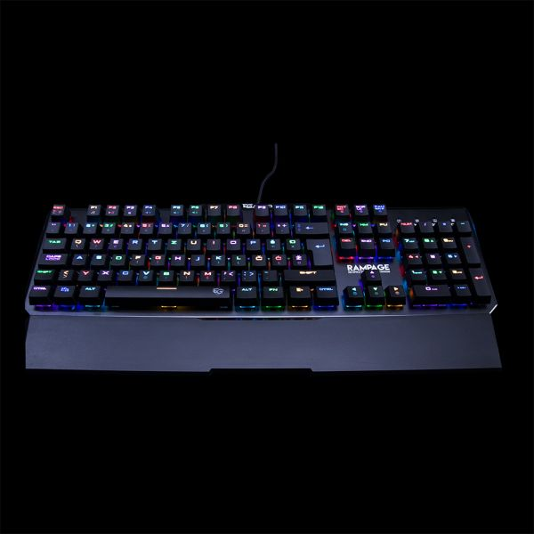 RAMPAGE MK95 RGB Gaming Keyboard, Optical switch Cijena